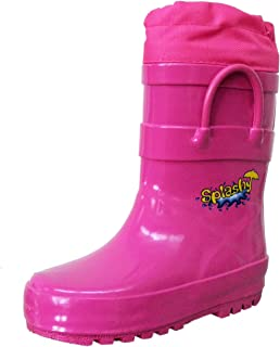 Splashy Children's Rain, Mud & Snow Boots with The Extra Long Protective Cuff