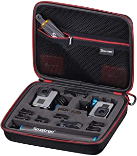 Smatree SmaCase G260SL Carrying Case for GoPro HERO 2018 Action Camera, GoPro HERO7/6/5/4/3/2/1 (Cameras and Accessories NOT Included)
