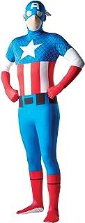 Costume Co - Mens Captain America Second Skin Costume