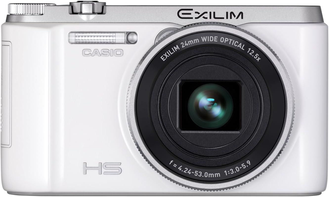 Casio Exilim Ex Zr1000 Digitalkamera 3 Zoll Weiß Kamera