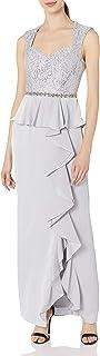 فستان Decode 1.8 للنساء من الدانتيل مع تنورة ساتان