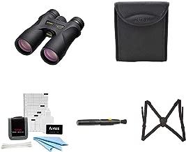 Nikon 16003 PROSTAFF 7S 10x42 Binocular (Black) Accessory...