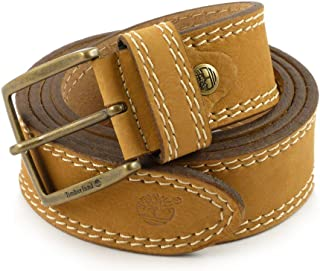 e2a48829b4c2b5 Timberland Uomo Cintura TB0M2148 919 2 NEEDLE MAN NUBUCK LEATHER BELT