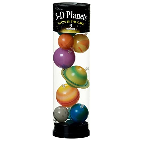 c6e6beeb37a5ed University Games 3-D Planets in a Tube Glow-in-the-Dark