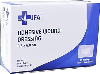 Adhesiva estéril les Acupuntura Lote de 25 (60mm x 86mm)