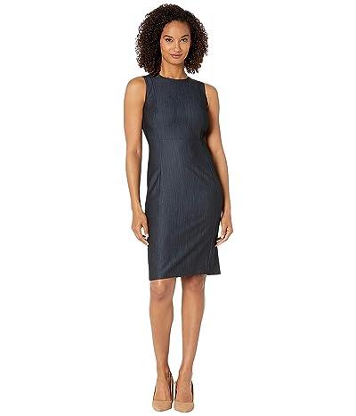 Calvin Klein Denim Sheath Dress (Blue) Women