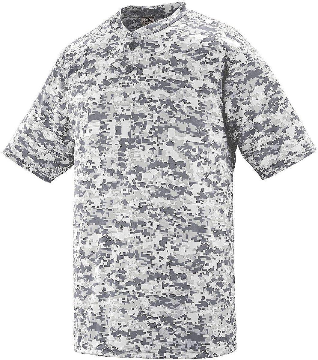 favorite Augusta Sportswear Free shipping on posting reviews Boys DIGI Wicking Two-Button Jersey CAMO