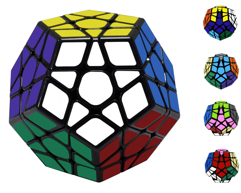 Maomaoyu Megaminx 3x5 Dodecaedro Speed Cube Cubo Magico(Negro): Amazon.es: Juguetes y juegos