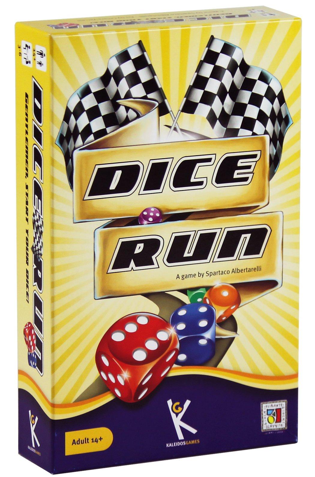 Kaleidos Games - Dice Run, Juego de Mesa en español (K0001): Amazon.es: Juguetes y juegos