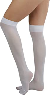 Women's Sexy Opaque Warm Knee High Long Socks Hosiery