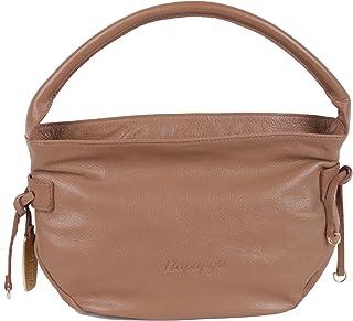 Bolso de tela para mujer marrón Beige/Braun