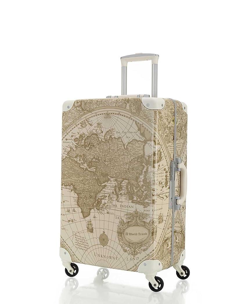 バレルメディア仕立て屋[ワールドトランク] スーツケース 軽量 保証付 55L 60 cm 4.4kg