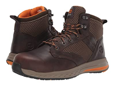 Timberland PRO Drivetrain SD35 Mid Composite Safety Toe SD (Brown 1) Men