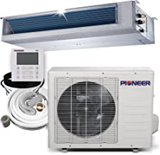 PIONEER Air Conditioner Inverter++ Split Heat Pump, 12,000 BTU, 208-230 V