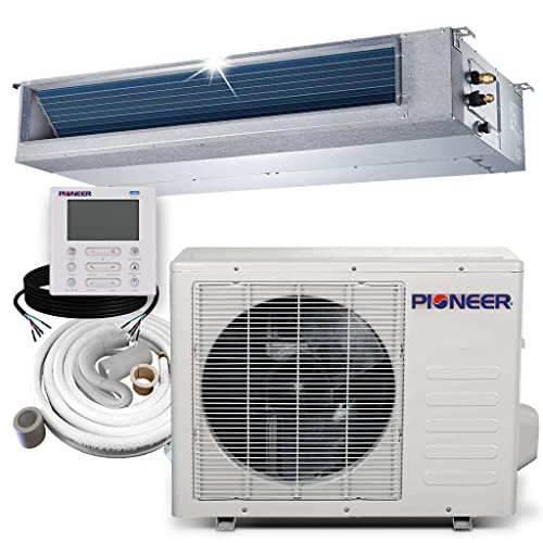 PIONEER Air Conditioner Inverter++ Split Heat Pump 18,000 BTU, 208-230 V