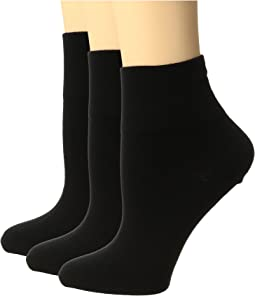 HUE - Cotton Body Socks 3-Pack