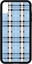 Wildflower Limited Edition iPhone Case for iPhone Xs Max (Blue Plaid)