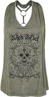 Rockwear Rock Rebel by EMP Dance It All Off Frauen Top schwarz Basics