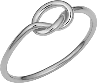 Best white gold love knot ring Reviews