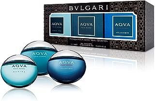 Bvlgari 3 Piece The Aqva Pour Homme Travel Collection Mini Gift Set for Men