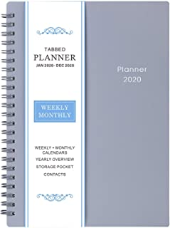 2020 Planner - Weekly & Monthly Planner, 6.25