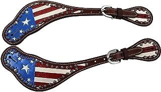 spurs american flag