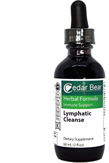 Cedar Bear Lymphatic Cleanse is an Immune Enhancing Formula That Supports The Clearing of The Lymphatic System 2 Fl Oz
