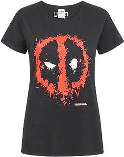 Marvel Splat Mask Logo Women's T-Shirt