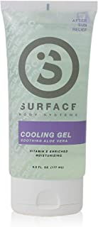Surface After Sun Aloe Vera Gel with Vitamin E - Moisturizing, Cooling Relief, Safe for Everyday Use - 6oz