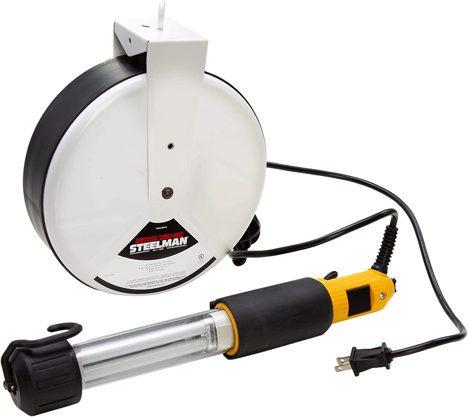 Steelman Compact Super special price Fluorescent Work Light for or Garage w Workshop El Paso Mall