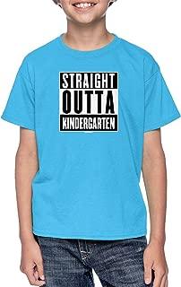 Haase Unlimited Straight Outta Kindergarten - Parody Youth T-Shirt