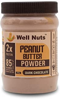 Well Nuts Dark Chocolate Peanut Butter Powder 200 G