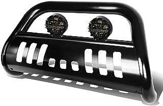 For Silverado/Sierra GMT800 3 inches Black Bull Bar+6 inches Black Housing Smoked Lens Fog Lights