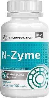 Enzimas Digestivas Healthaddiction I Reduce Inflamación, Mejora Digestión, Reduce Estreñimiento y Gases I Formulado Con Me...