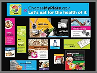"""Nutrition Bulletin Board Kit for Classrooms 