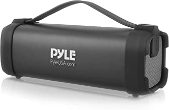 Pyle Wireless Portable Bluetooth Speaker - 100 Watt Power Rugged Compact Audio Sound Box Stereo System with Built-in Recha...