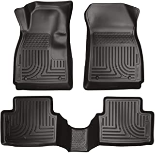 Husky Liners - 98291 Fits 2012-19 Chevrolet Sonic Weatherbeater Front & 2nd Seat Floor Mats Black