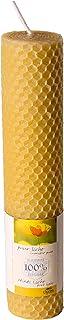 Bienenwachs Wabenkerze ø 2,8 x 19 cm-R10