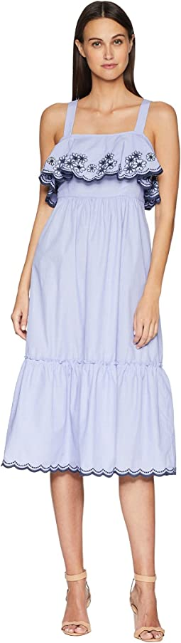 Kate Spade New York Daisy Embroidered Patio Dress