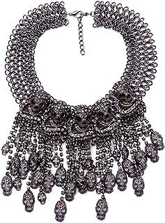 chunky skull necklace