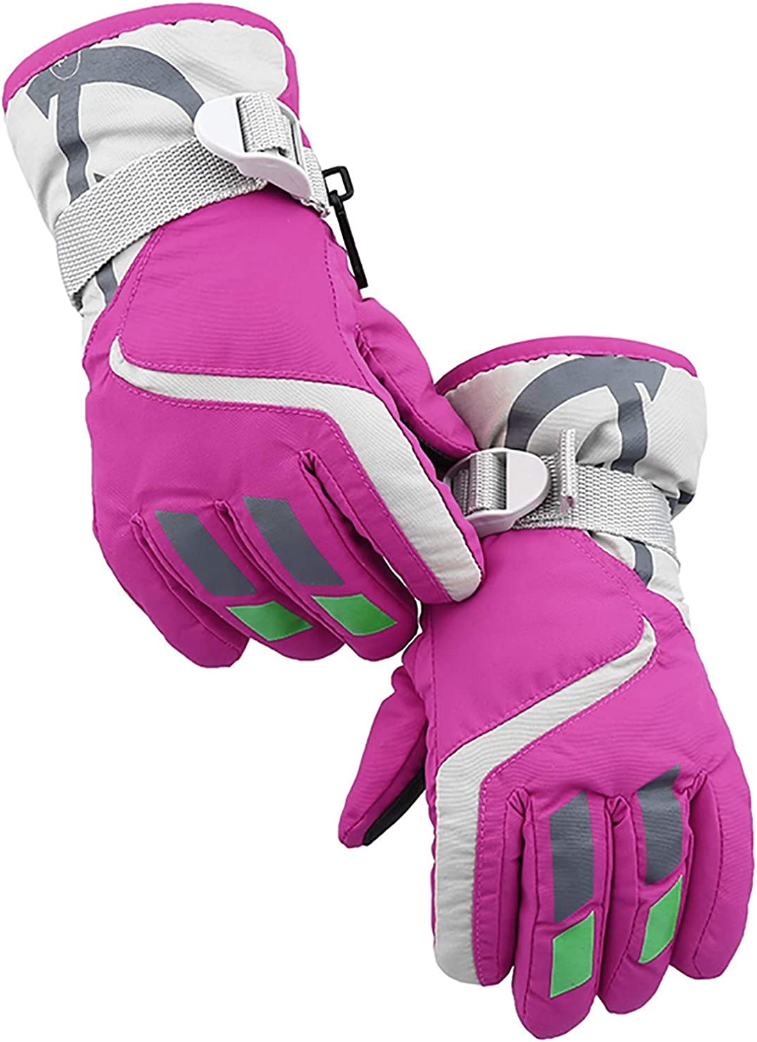 Winter Gloves for Kids Outdoor Sports Windproof Mittens Boys and Girls