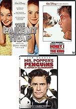 Honey Trap Collection Movie 3 DVD Set Parent Trap Lindsay Lohan + Disney Honey, I Shrunk the Kids & Mr. Penguins Popper's Film Bundle