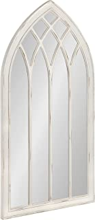 Kate and Laurel Winn Rustic Arch Accent Mirror, Architectural Wall Decor, 25