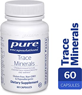 Pure Encapsulations - Trace Minerals - Essential Trace Mineral Blend to Support Metabolism and Cellular Function- 60 Capsules