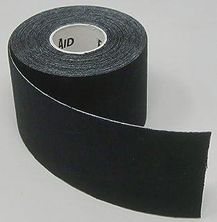 "Exl Body Performance Kinesiology Tape (Latex-Free) (2"" Wide X 16 Feet Long) - 1 Roll - Black"
