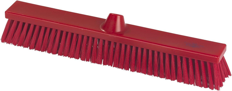 Hillbrush Hygiene b1786r PREMIER steif 500 mm Kehrbesen, rot rot rot B07CD39J59 59e9f9