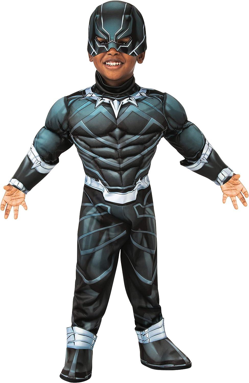Max 55% OFF Ranking TOP17 Rubie's Boy's Marvel Super Hero Adventures Black Panther Deluxe