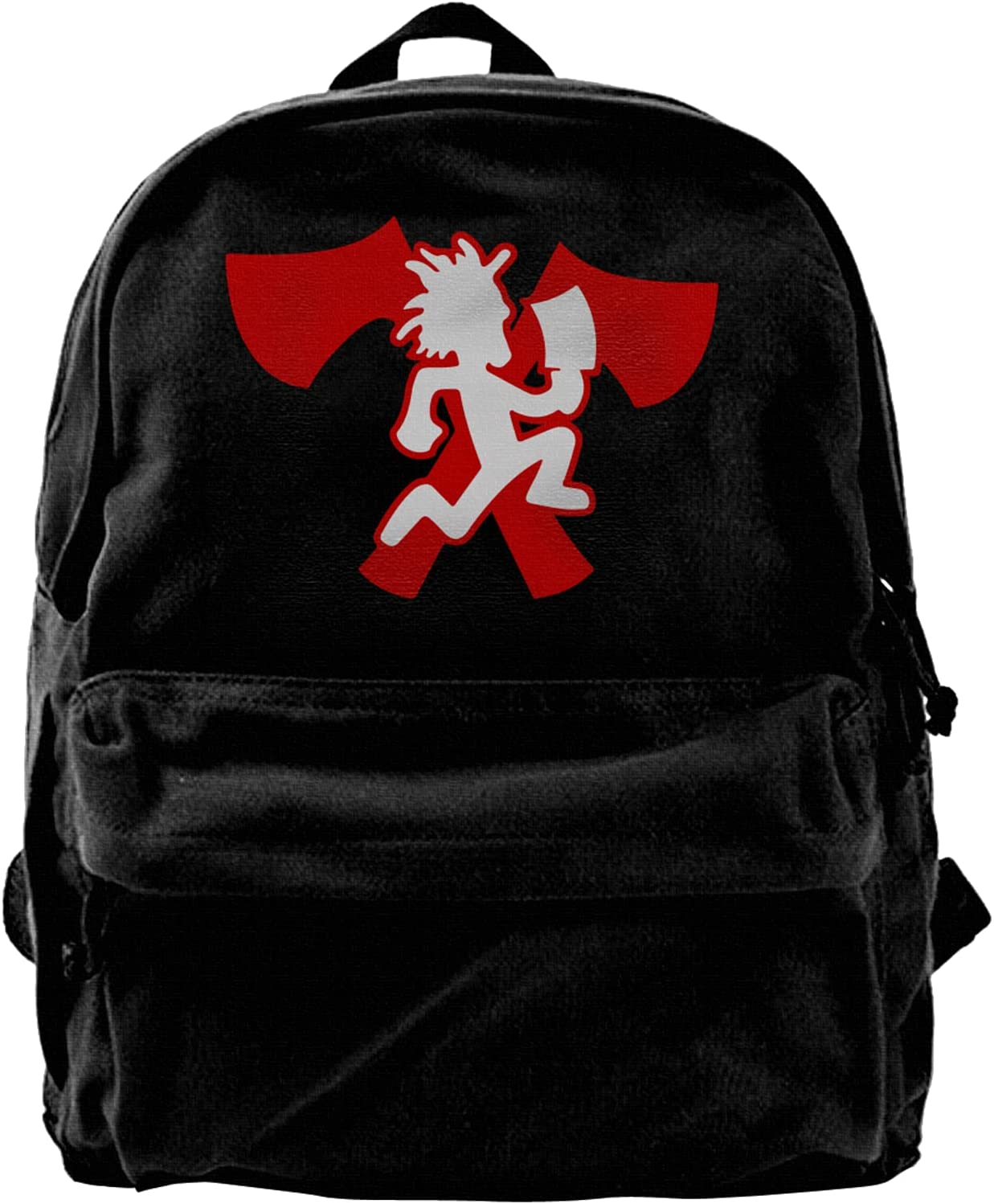 Hatchetman Icp Logo Canvas Backpacks Limited time cheap sale Classic Bags Laptop High-Capacity S