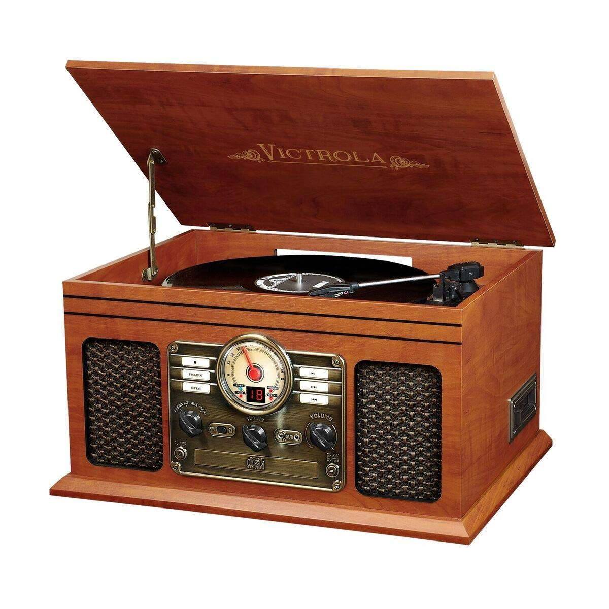 Victrola Nostalgic Bluetooth Turntable Entertainment