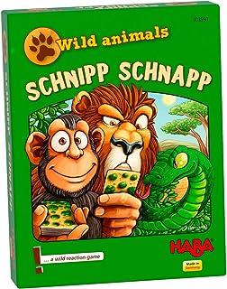 HABA Wild Animals – Schnipp Schnapp | Card Game, Multicolor